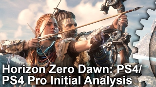 getlinkyoutube.com-Horizon Zero Dawn: Initial PS4/PS4 Pro Gameplay Frame-Rate Test