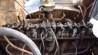 1937 chevrolet truck first start in 43 years