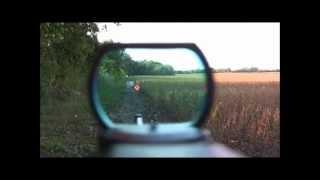getlinkyoutube.com-RUGER 10/22  Carbine Reflex Sight (red dot)  (POV)