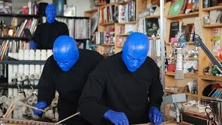 getlinkyoutube.com-Blue Man Group: NPR Music Tiny Desk Concert
