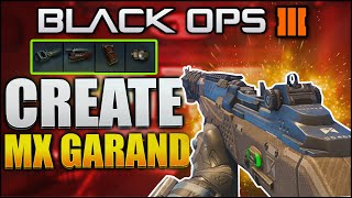 """HOW TO MAKE THE MX GARAND!"" in Black Ops 3 MX GARAND CLASS SETUP  (HOW TO MAKE MX GARAND)"