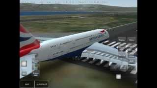 getlinkyoutube.com-Infinite flight 1.8 Airbus a380