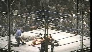 getlinkyoutube.com-Undertaker vs. Brock Lesnar-WWE Title (Steel Cage)Pt.2
