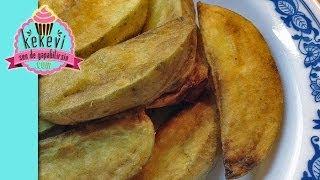 getlinkyoutube.com-Çıtır Kabuklu Elma Dilim Patates - Kekevi Yemek Kanalı
