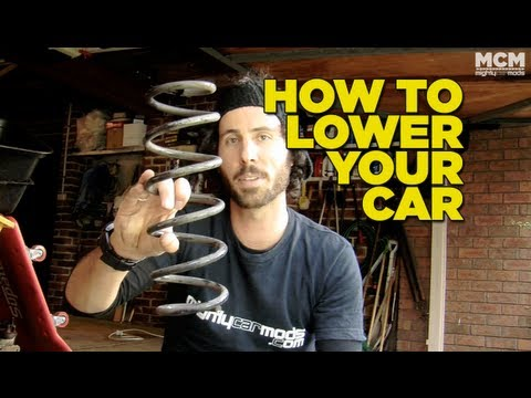 How To Install Lowered Springs