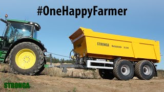 #OneHappyFarmer – The story of a man and his tipping trailer ( Stronga )