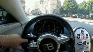 getlinkyoutube.com-Driving Bugatti Veyron Through Paris (1.2M)