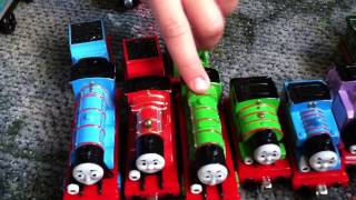 getlinkyoutube.com-Thomas and Friends Train Collection - Small but Cute