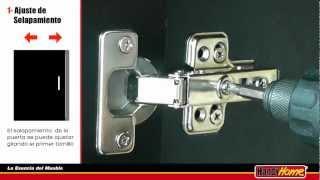 getlinkyoutube.com-Instalación Bisagra Bidimensional Oculta Handy Home
