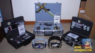 getlinkyoutube.com-All Kamen Rider 555 DX Rider Gear & Gear Box Showcase (Faiz Kaixa Delta Psyga Orga)