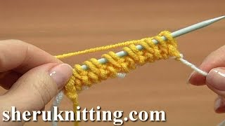 getlinkyoutube.com-Knit Invisibe Cast On How to Tutorial 1 Part 16 of 18 Waste Yarn Cast On Method