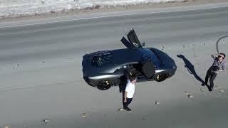 getlinkyoutube.com-DJI Inspire 1 Las Vegas Lamborghini Aventador & Lamborghini Huracan Shoot 3/25/2015