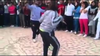 getlinkyoutube.com-عندما يرقص طلاب جامعة كاف ههههه