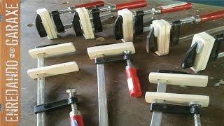 getlinkyoutube.com-Solución sargentos de carpintería baratos. Fix cheap woodworking clamps
