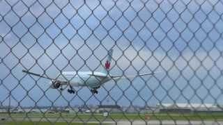 getlinkyoutube.com-Air Canada Boeing 777 late go around