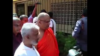 Ven. Gnanasara Thero surrenders to courts