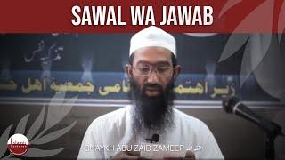 getlinkyoutube.com-06 Sawal wa Jawab - Feb 2013 - Akot | Abu Zaid Zameer