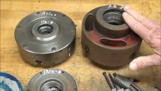 getlinkyoutube.com-SHOP TIPS #213 Part 1 of 2 Fitting a Backing Plate to a Lathe Chuck tubalcain