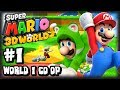 Super Mario 3D World Wii U - 1080p Co-Op Part 1 - World 1