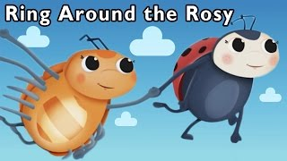 getlinkyoutube.com-Bug Dance Game | Ring Around the Rosy and More | Mother Goose Club Playhouse Kids Song