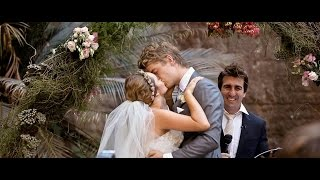 getlinkyoutube.com-Rebecca Breeds & Luke Mitchell Wedding Video - Official