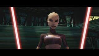 getlinkyoutube.com-Star Wars: The Clone Wars - Anakin Skywalker & Obi Wan Kenobi vs. Ventress [1080p]