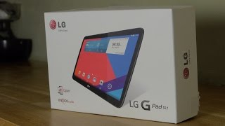 getlinkyoutube.com-LG G Pad 10.1 Tablet Unboxing and Demo Review