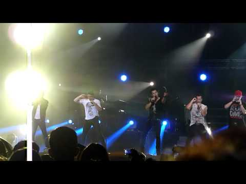"NKOTBSB In Manila 2012 - NKOTB with the AZKALS TEAM: ""You Got It (The Right Stuff)"""