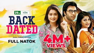 Bangla Telefilm Backdated I Apurbo, Sarika, Tisha I Drama & Telefilm
