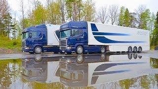 getlinkyoutube.com-Тест-драйв Scania Streamline