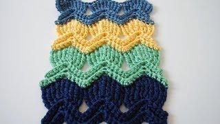 getlinkyoutube.com-How to Crochet the Vintage Fan Ripple Stitchl: Beginner Friendly Tutorial