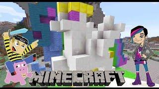 getlinkyoutube.com-My Little Pony Building Challenge with Radiojh Audrey Games - Minecraft
