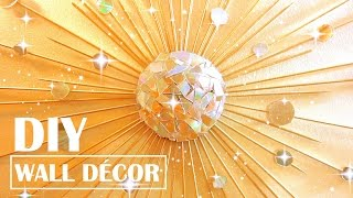 Turn Old CDs into Wall Decor | DIY STARBURST MIRROR