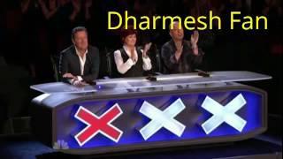America Got Talent - Dharmesh fan | dance like Dharmesh| 2017 new dance
