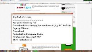getlinkyoutube.com-Download Hotstar app for windows Android Laptop iPhone