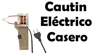 getlinkyoutube.com-Cómo Hacer un Cautin Eléctrico Casero - Muy fácil de hacer