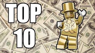 getlinkyoutube.com-TOP 10 Rarest LEGO Minifigures of ALL TIME!!!