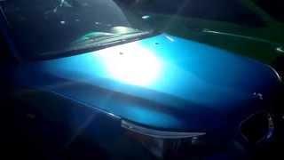 getlinkyoutube.com-Bmw 5 series with 3m 1080 gloss metallic blue