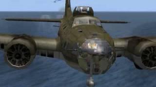 Il-2 B-17F Crash landing