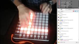 getlinkyoutube.com-[Mnics에투샤] Skrillex - Bangarang 런치패드 (권영민)