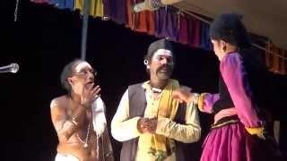 getlinkyoutube.com-Yakshagana -- Hasya - Purandara moodkani as Huliyanna - 2