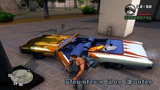 getlinkyoutube.com-GTA San Andreas (PC) Remastered; HD Textures & HQ Models (1080p and ENB) Gameplay