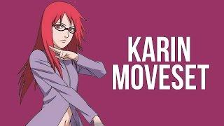 getlinkyoutube.com-Naruto Storm Revolution - Karin Complete Moveset