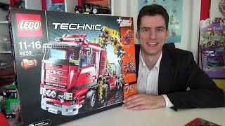 getlinkyoutube.com-LEGO® Technic 8258 Crane Truck MISB