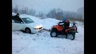 getlinkyoutube.com-Stels ATV 800D Dinli Nissan Avenir