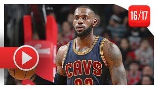 getlinkyoutube.com-LeBron James Full Highlights vs Bulls (2016.12.02) - 27 Pts, 13 Reb, Cavs Feed