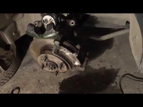 Geely ck замена ремкомплекта переднего суппорта