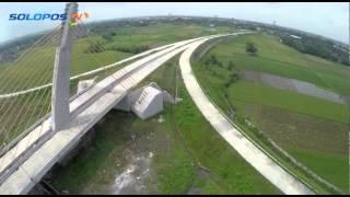 Proyek Tol Solo-Kertosono dari Udara
