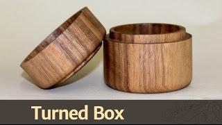 263 - Turned Box
