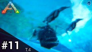 getlinkyoutube.com-ARK Survival Evolved | El pingüino y el pez linterna #11 | T.4
